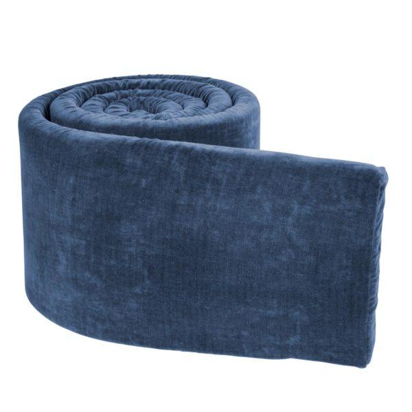 Sebra Bettnestchen, velours, königsblau