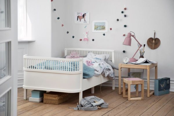 sebra Bett, Junior & Grow, weiss 2001308 - 03