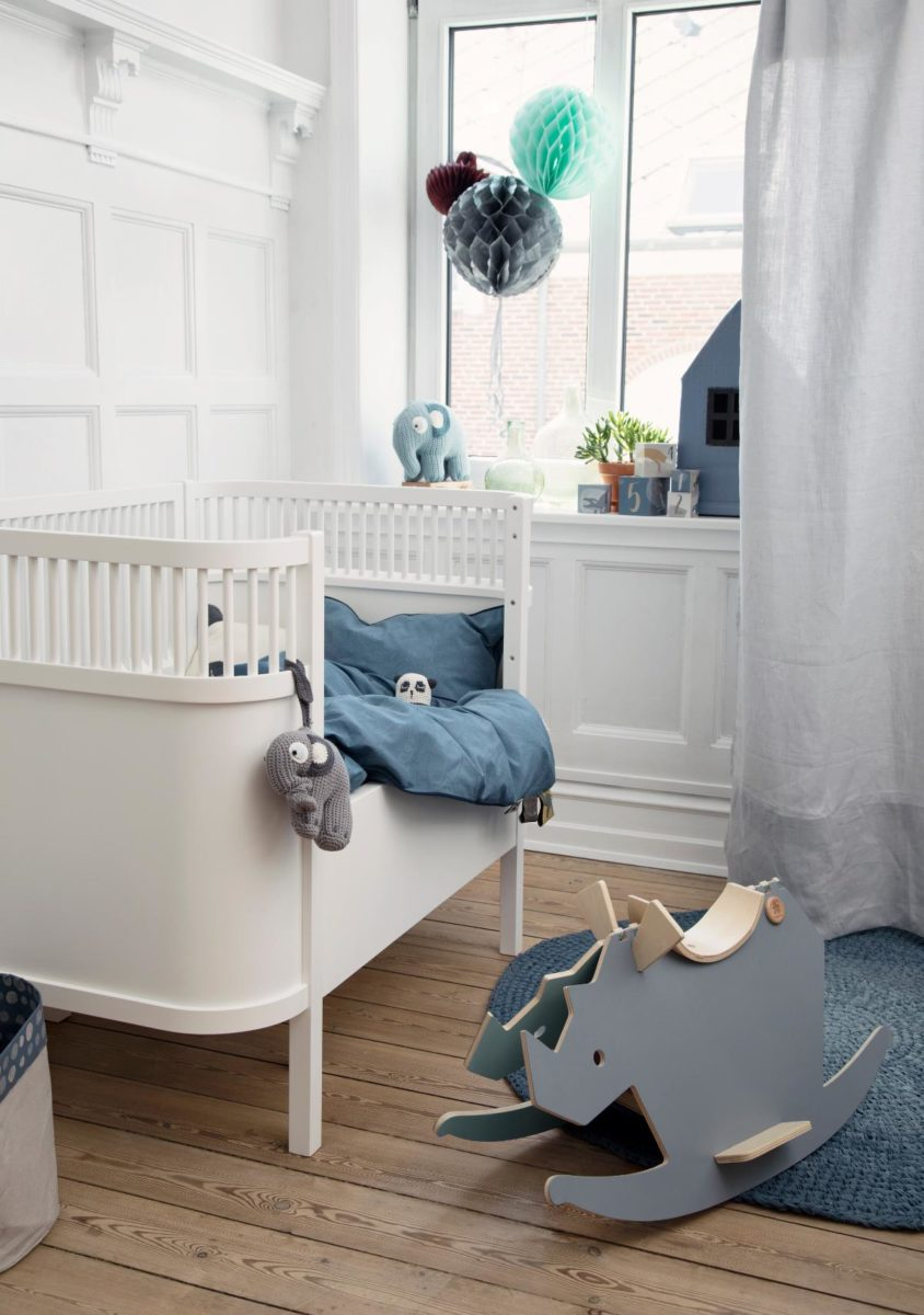 sebra bett babybett juniorbett wei hipster baby. Black Bedroom Furniture Sets. Home Design Ideas