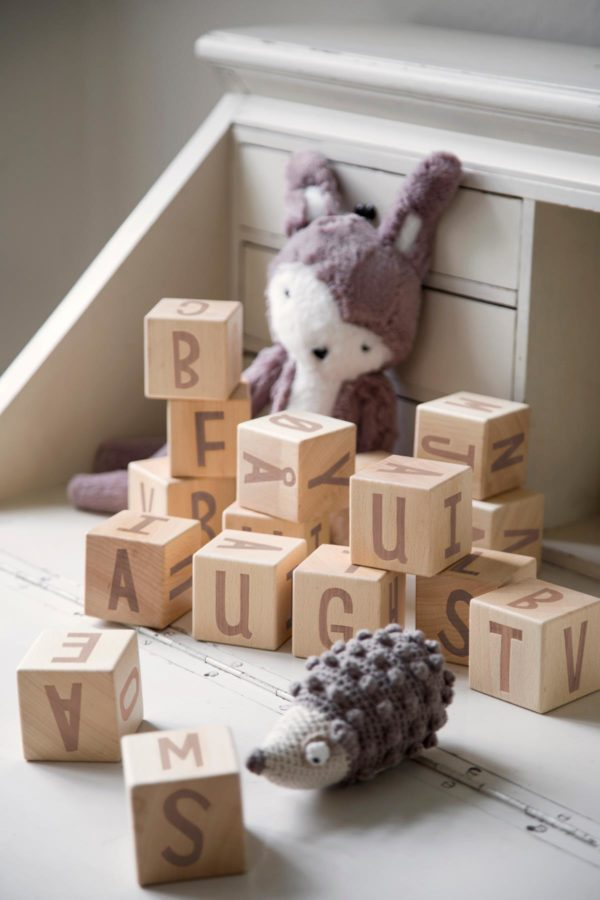 sebra Buchstabenblöcke aus Holz, 16 Stck., Holz 3017304 - 03