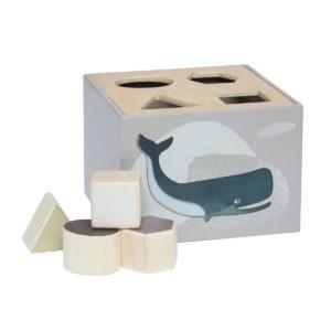 sebra Formensteckspiel aus Holz, Arctic animals 3017204 - 01