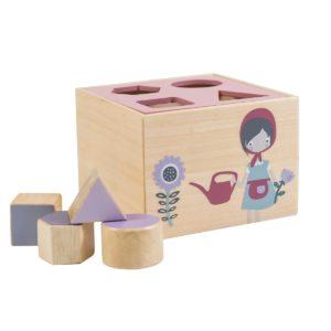 sebra Formensteckspiel aus Holz, Farm, Junge 3017101