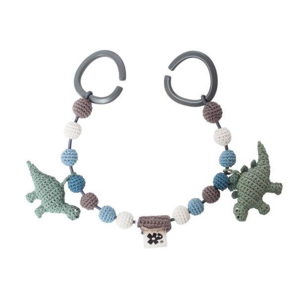 sebra Häkel-Kinderwagenkette, Dino 8010103