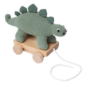 sebra Häkel-Nachziehtier, Dino 3001110 - 01