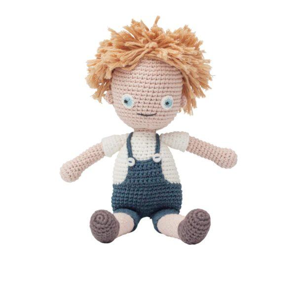 sebra Häkel-Puppe, Birk 3002102 - 01
