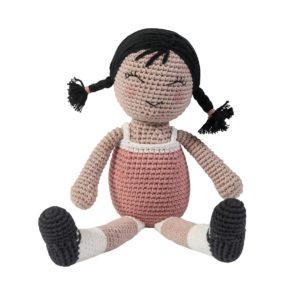 sebra Häkel-Puppe, Li 3002202 - 01