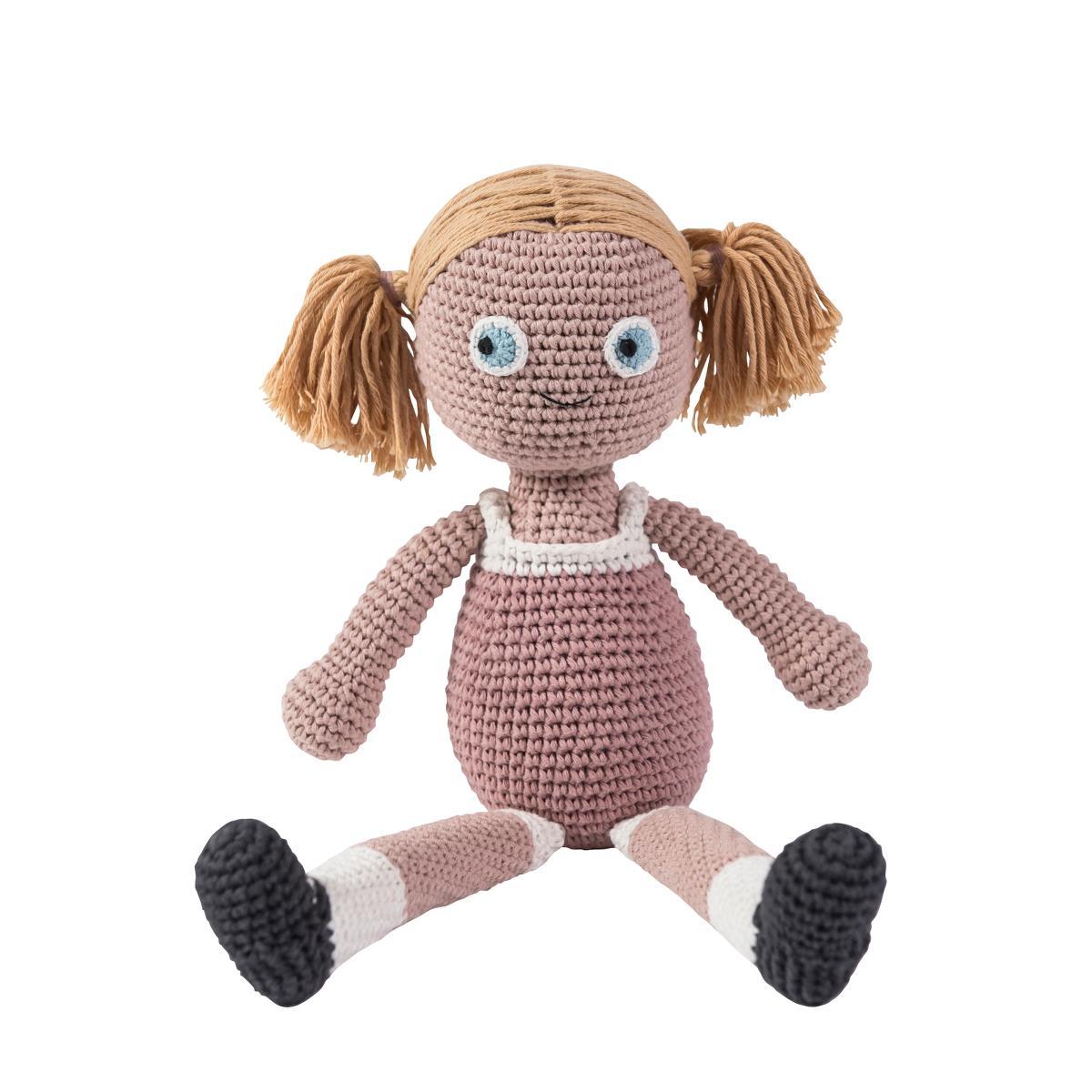 sebra Häkel-Puppe, Rose 3002203 - 01