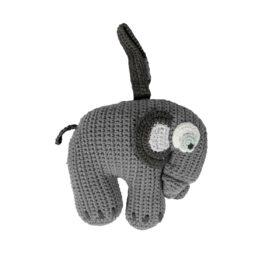 sebra Häkel-Spieluhr, Elefant, grau 3013302 - 01