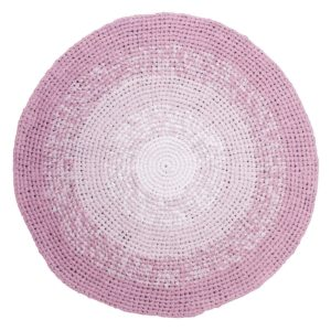 sebra Häkelteppich, gradient rosa 4003207 - 01