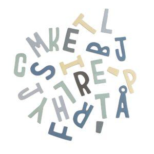 sebra Magnetbuchstaben, 62 Stk., gemischt, Junge 8010101