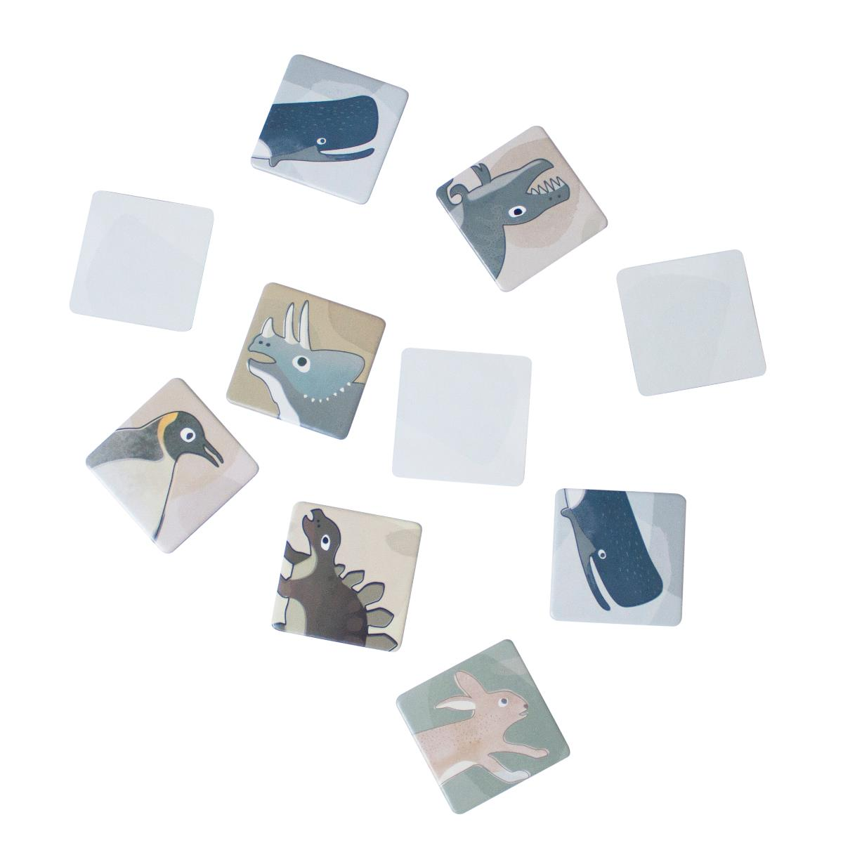 sebra Memory in der Box, Dino:Arctic animals 3015307 - 01