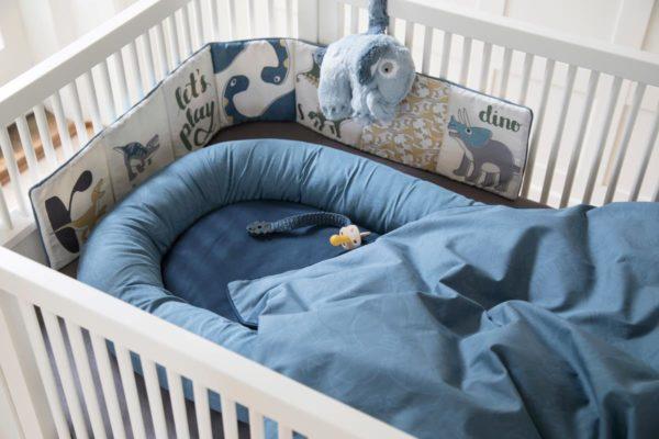 sebra Plüsch-Spieluhr, Elephant, wolkenblau 3013101 - 02