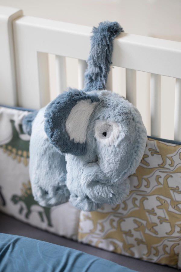 sebra Plüsch-Spieluhr, Elephant, wolkenblau 3013101 - 03