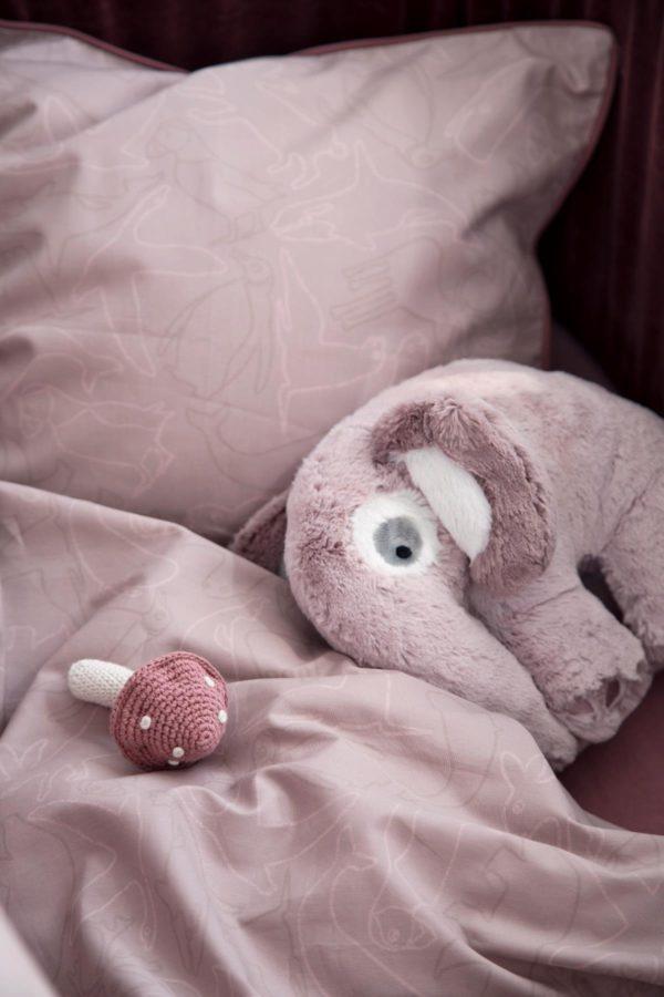 sebra Plüschtier, Elefant, altrosa 3001206 - 02