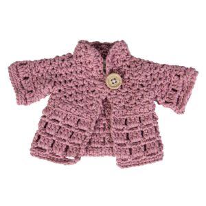 sebra Puppenkleidung, Jacke, pink 3450
