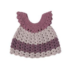sebra Puppenkleidung, Kleid, pastell lila 3003202 - 01