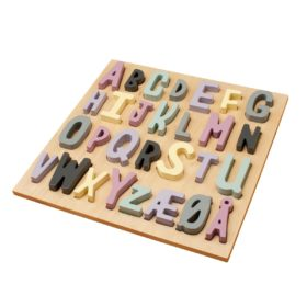 sebra Puzzle aus Holz, ABC, Mädchen 3015203