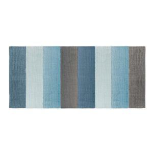 sebra Teppich, gewebt, wolkenblau 4003106 - 01