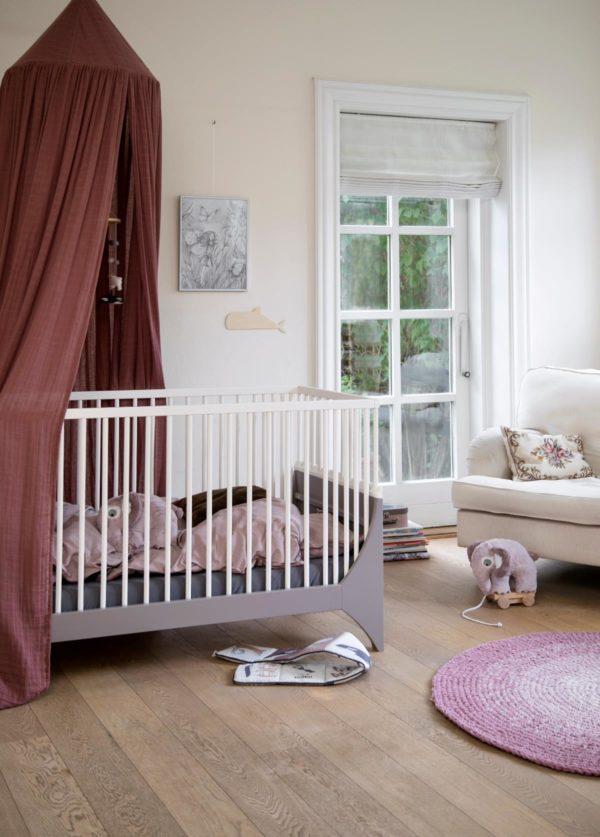 sebra Yomi Bett, Baby, erdbraun:weiss 2001316 - 02