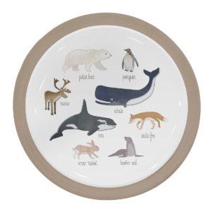 sebra Melamin-Menüteller, Arctic animals 7007201 - 01