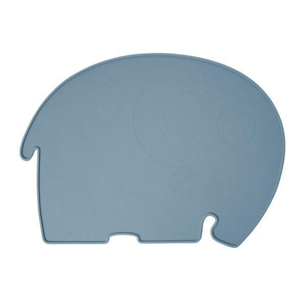 sebra Silikon Platzdeckchen, Elefant, königsblau 7010101 - 01