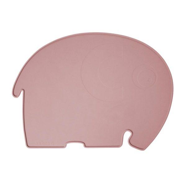sebra Silikon Platzdeckchen, Elefant, mitternacht pflaume 7010201 - 01