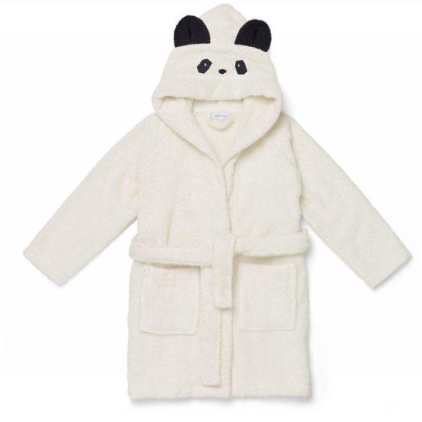 Liewood Bademantel Panda creme de la creme LW12387-0010