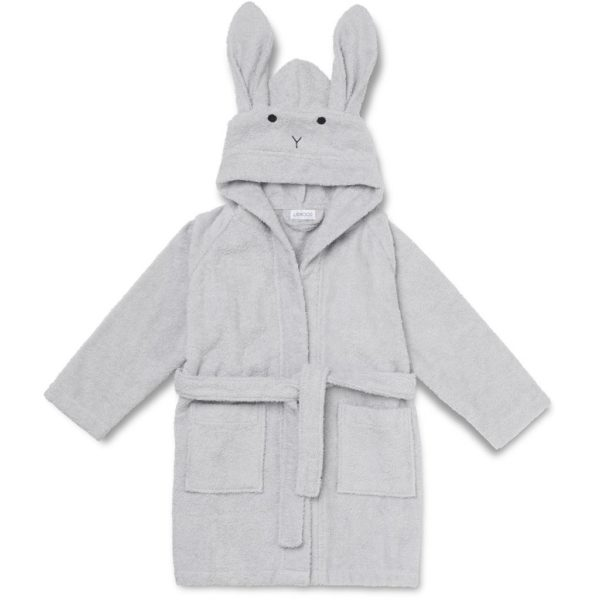 Liewood Bademantel Rabbit dumbo grey LW12387-0032