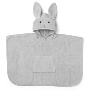 Liewood Badeponcho Rabbit dumbo grey LW12356-0032