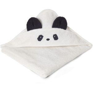 Liewood Kapuzenhandtuch Panda creme de la creme LW12442-0010