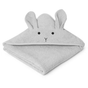 Liewood Kapuzenhandtuch Rabbit dumbo grey LW12442-0032