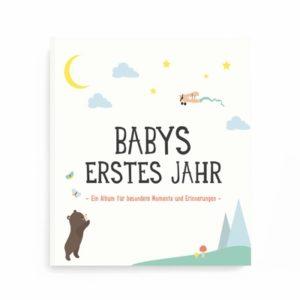 """Album """"Babys erstes Jahr"""" von Milestone 106-203-001 - 01"""