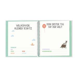 """Album """"Babys erstes Jahr"""" von Milestone 106-203-001 - 03"""