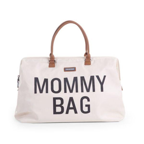 Childhome Mommy Bag in alt weiß – große Wickeltasche - 01