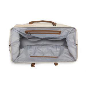Childhome Mommy Bag in alt weiß – große Wickeltasche - 06
