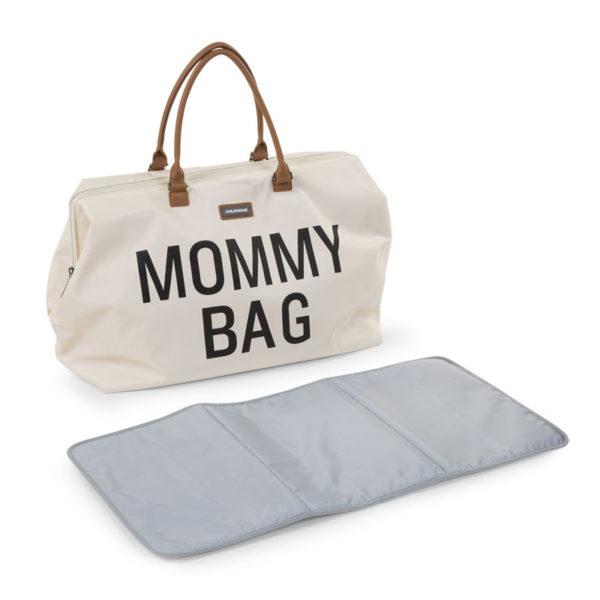 Childhome Mommy Bag in alt weiß – große Wickeltasche - 08