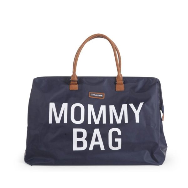 Childhome Mommy Bag in navy blau – große Wickeltasche - 01