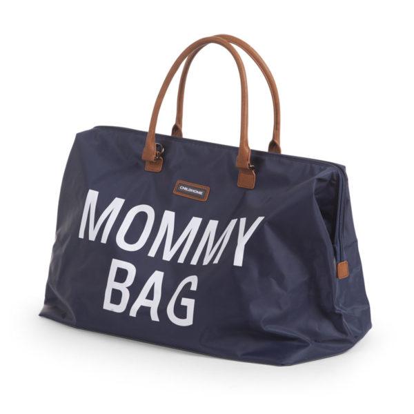 Childhome Mommy Bag in navy blau – große Wickeltasche - 02