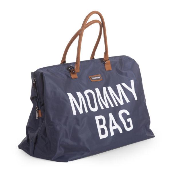 Childhome Mommy Bag in navy blau – große Wickeltasche - 03