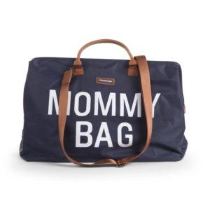 Childhome Mommy Bag in navy blau – große Wickeltasche - 05