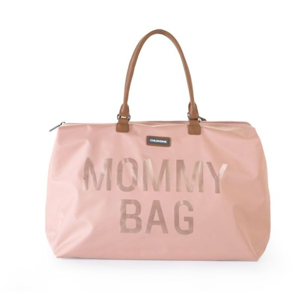 Childhome Mommy Bag in rosa – große Wickeltasche - 01