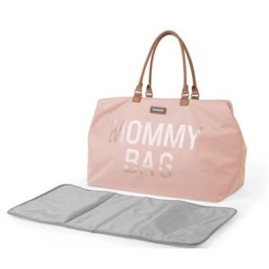 Childhome Mommy Bag in rosa – große Wickeltasche - 02