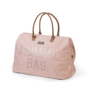 Childhome Mommy Bag in rosa – große Wickeltasche - 03