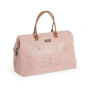 Childhome Mommy Bag in rosa – große Wickeltasche - 04