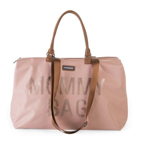 Childhome Mommy Bag in rosa – große Wickeltasche - 05