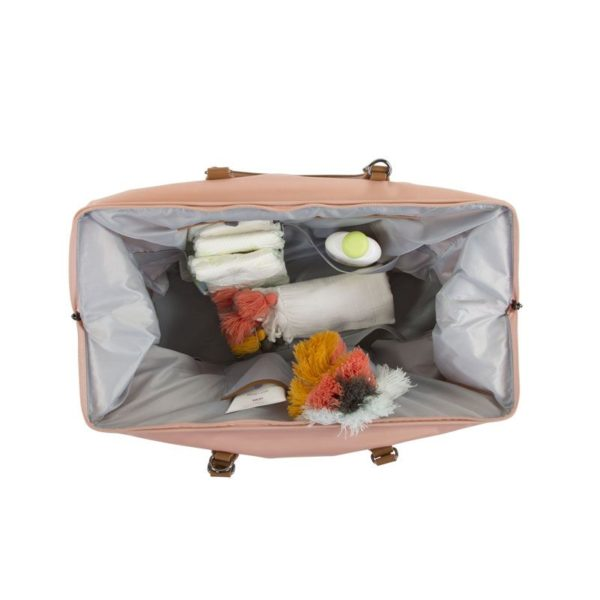 Childhome Mommy Bag in rosa – große Wickeltasche - 06