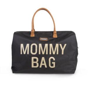 Childhome Mommy Bag in schwarz – große Wickeltasche