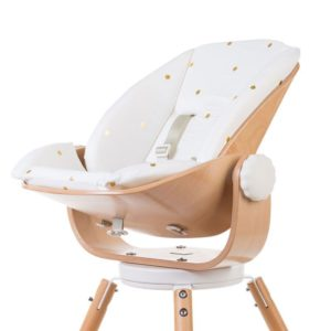 "Childwood EVOLU Newborn Sitzkissen ""Gold Dots"" - 01"