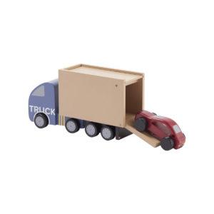 Kids Concept Laster Aiden, Holzauto mit Auto