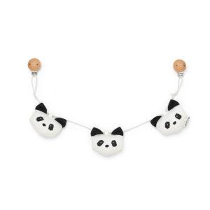 LIEWOOD Panda Kinderwagenkette LW12493-0010